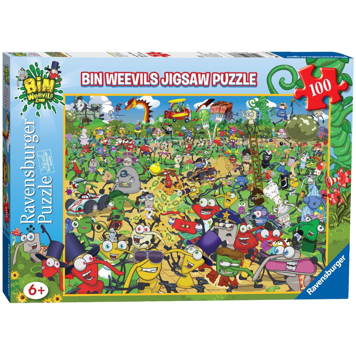 madhouse family reviews ravensburger bin weevils jigsaw. Black Bedroom Furniture Sets. Home Design Ideas
