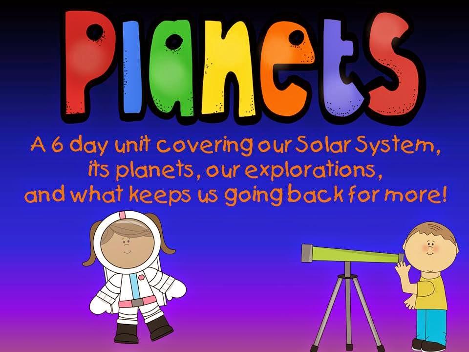 http://www.teacherspayteachers.com/Product/Planets-Space-and-Stars-A-Mini-Unit-1265295