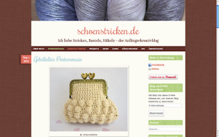 Chez Violette Featured on http://schoenstricken.de
