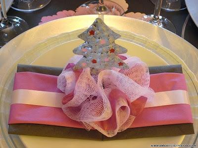 Decoracion mesa Navidad Servilletero 6