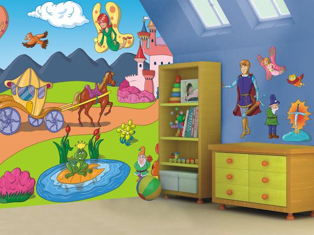 naklejki do pokoju dla dzieci