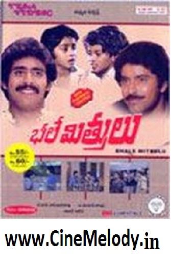 Bhale Mitrulu  Telugu Mp3 Songs Free  Download  1986