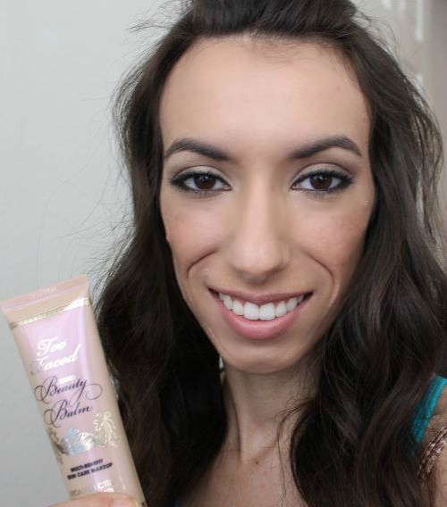 how to use too faced tinted beauty balm