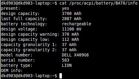 Cuidar batería del portatil en Ubuntu