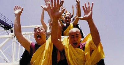 Image result for monks roller coaster