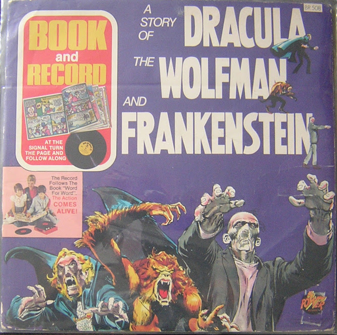 a story of DRACULA / WOLFMAN / FRANKENSTEIN