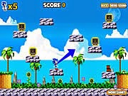 Sonic phá hộp, game van phong