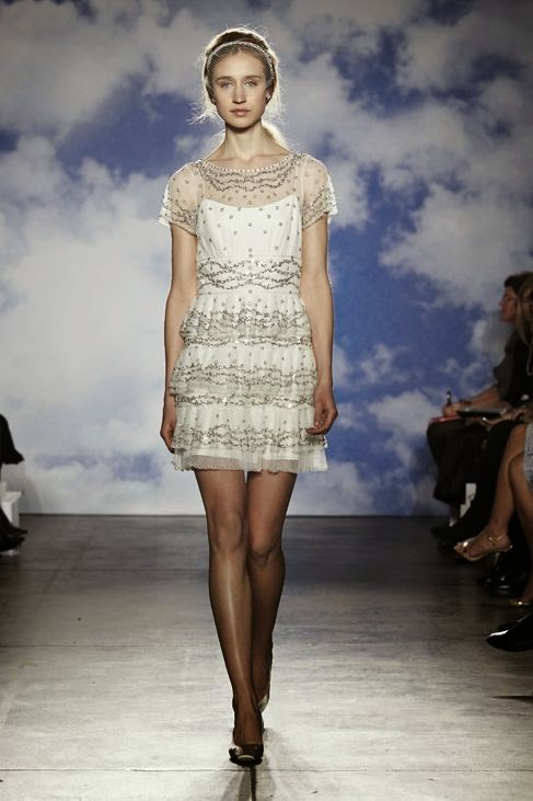 Jenny Packham Short Wedding Dress
