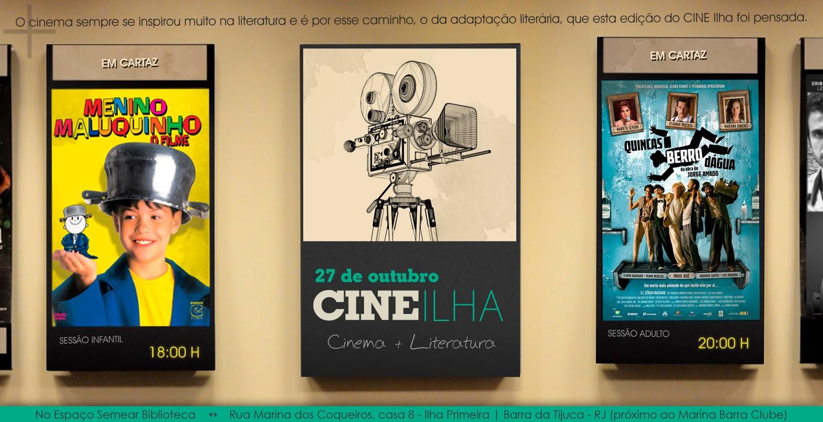 Cine Ilha: Cinema e Literatura