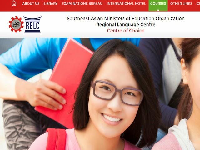 Beasiswa SEAMEO RELC 2015 dari Lembaga Pendidikan di Singapura