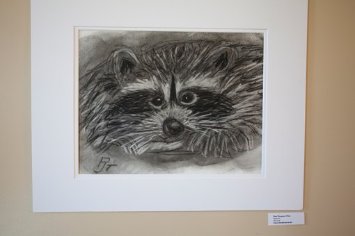 student art show - knoodleu - atascadero art classes - charcoal art - homeschool art curriculum