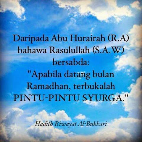 Hadist Ramadhan