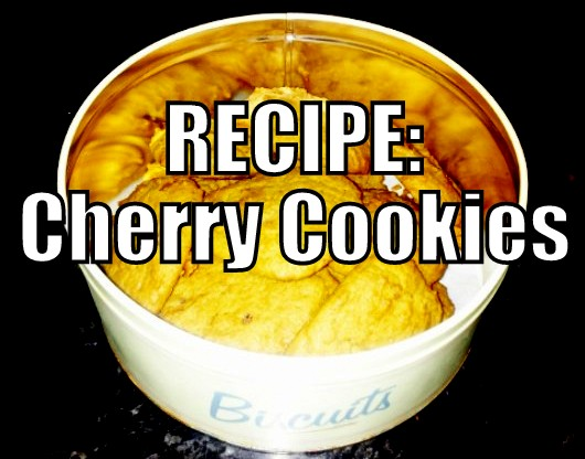Recipe - Cherry Cookies - www.iamtypecast.com
