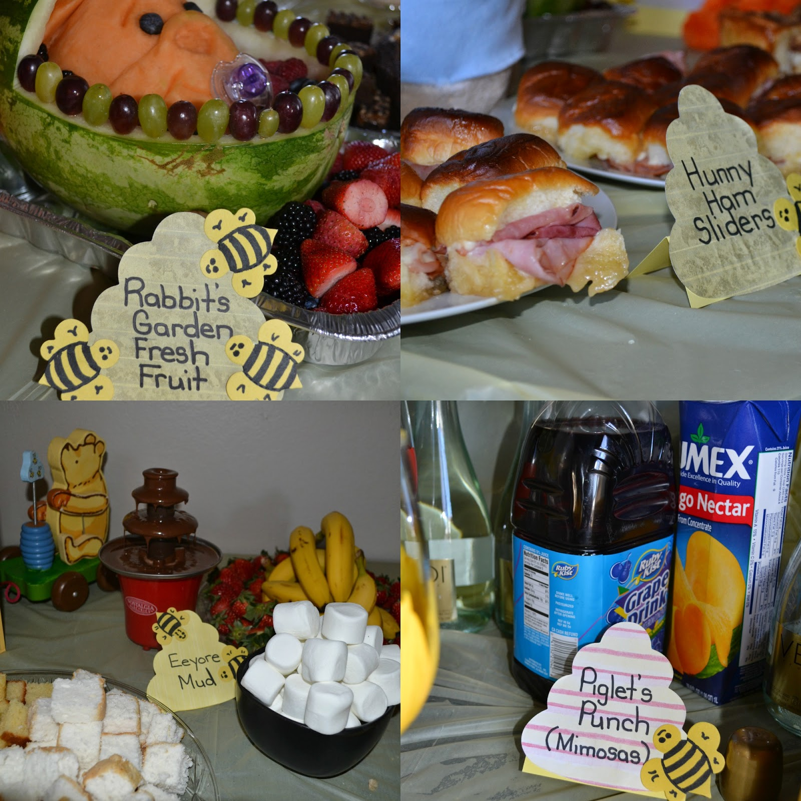 Annie e Can Cook Winnie the Pooh Baby Shower