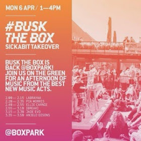#BUSKTHEBOX SickABit Takeover