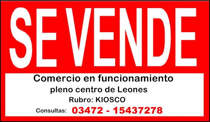 ESPACIO PUBLICITARIO: VENTA DE COMERCIO EN LEONES