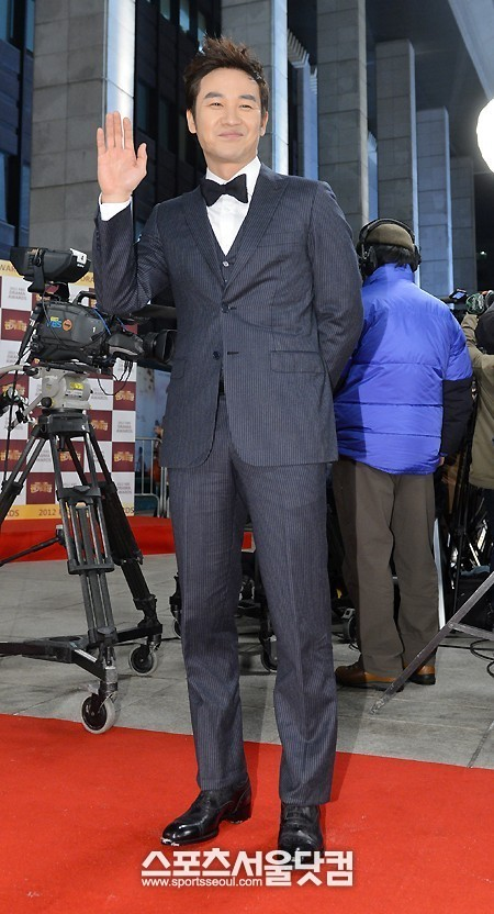 Um Tae Woong 2012 KBS Drama Awards