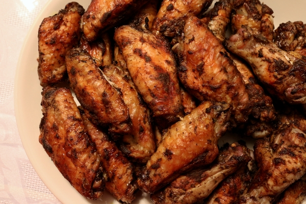 Mission Food Olympic Party 1 Jerk Chicken Wings
