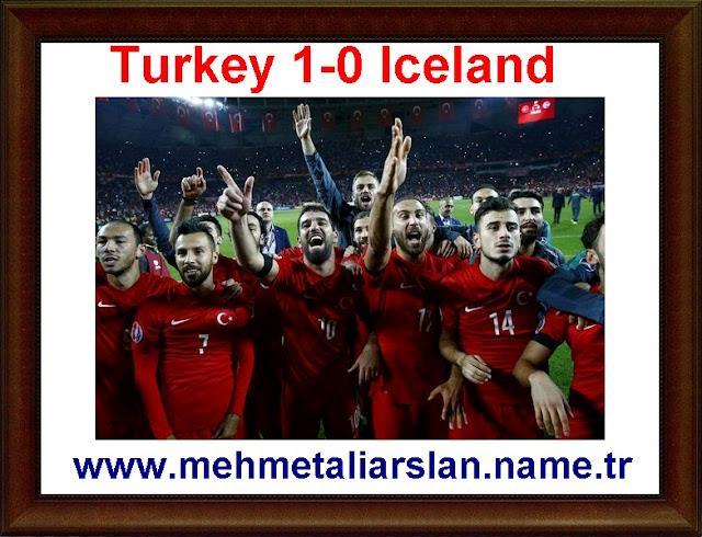 Turkey 1-0 Iceland