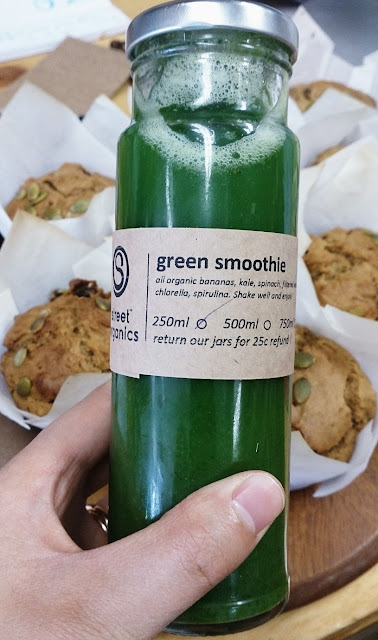 Street Organics, Malvern, green smoothie, organic