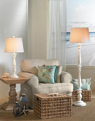 Beach Style Decorating Ideas Coastal Beach Style Decorating