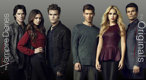 The Vampire Diaries and The Originals on @Netflix #streamteam