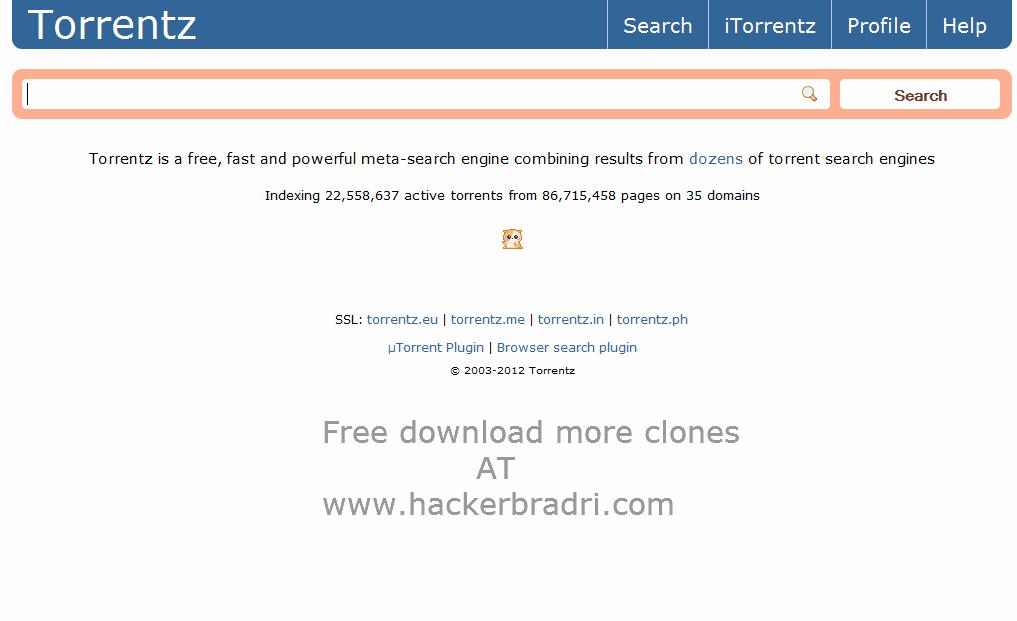 Torrentz2 2019 Search Engine