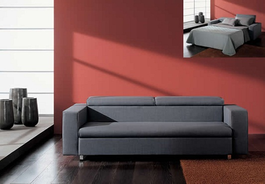 Modern+tasarim+yatalli+kanepe+modeli Yeni Sezon Yataklı Kanepe Modelleri