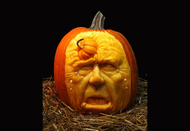 Cool Pumpkin Carving Ideas 2013 Theme Zombie