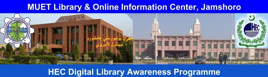 MUET Library and Online Information Center, Jamshoro
