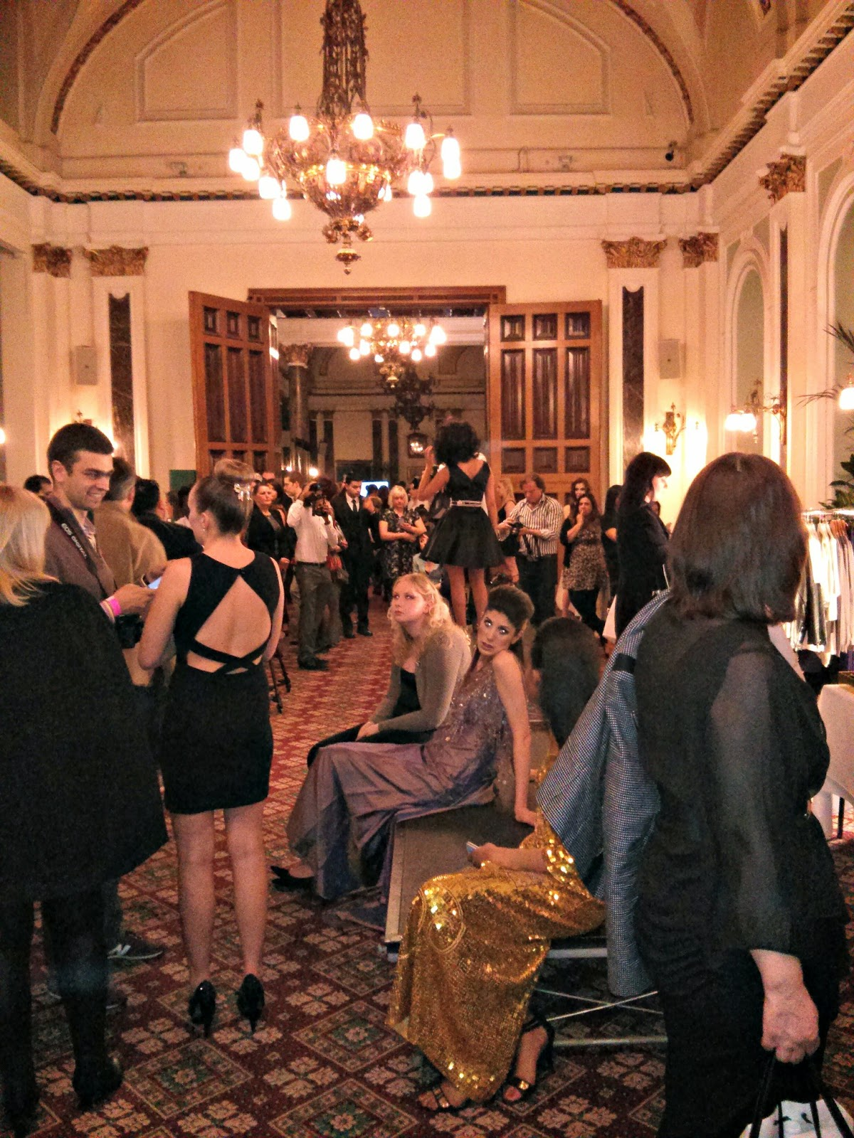 Fashion Networking event at the Birmingham Fashion Week event