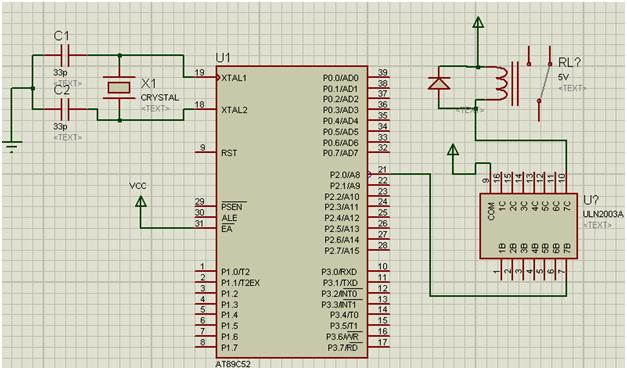 What is a Relay How to interface relay with 8051 microcontroller