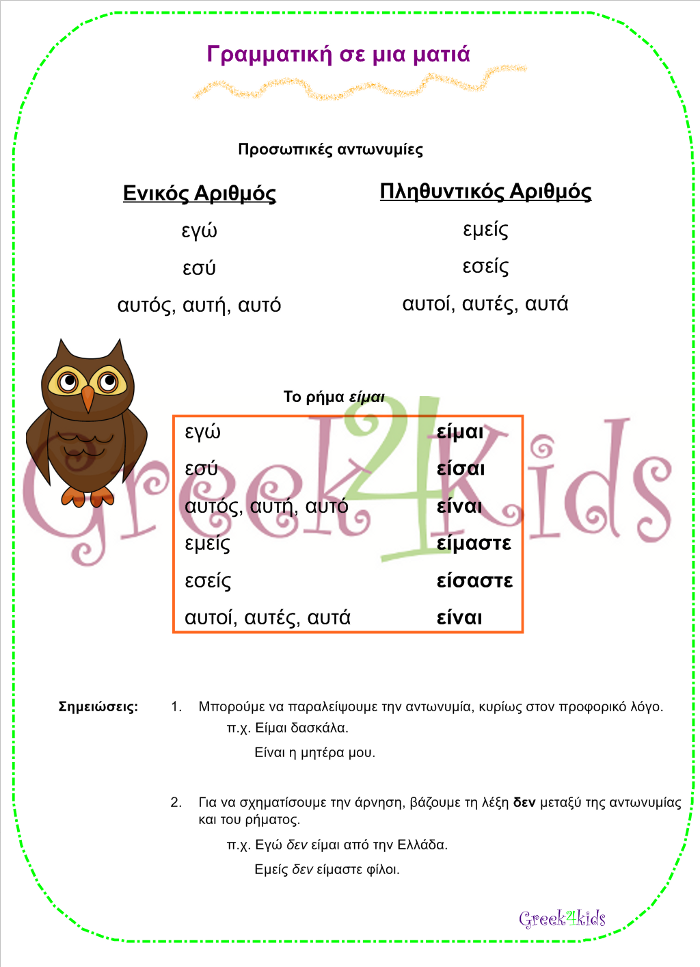 www.greek4kids.eu/Greek4Kids/GrammarSprinkles/PronounsVerbBe.pdf