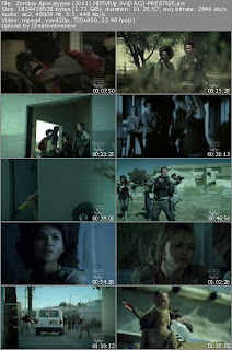 Zombie Apocalypse Movie Screen