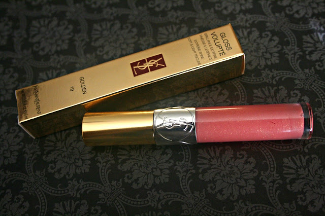 YSL Gloss Volupte Lip Gloss in 19 Rose Orfevre Review, Photos, Swatches & FOTD
