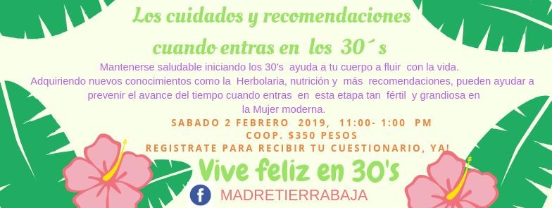 CUIDADO DE LOS 30'S