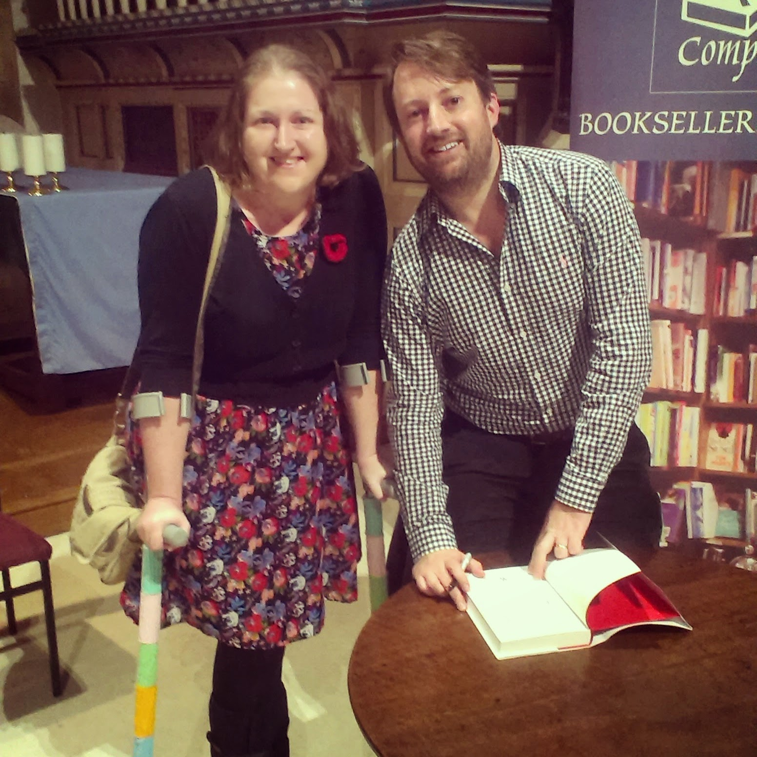 Duck meeting David Mitchell