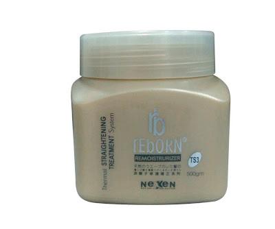 Hấp tái tạo và dưỡng tóc khi sử dụng thuốc duỗi
