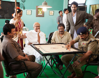 on the sets of up & down malayalam movie