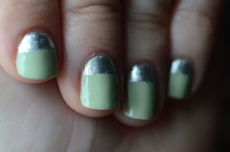 Hospital Green and Stainless Steel Nails - Butter London Bossy Boots