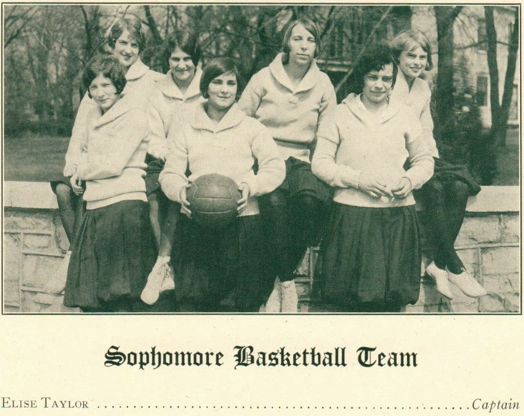 Sophomore Basketball Team Harrisonburg Teachers College 1926