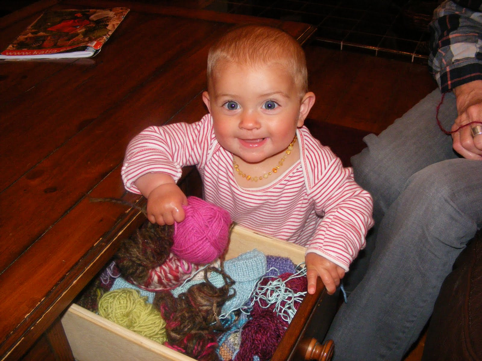 Get Knitting Grandma : Life after alfie day the grandmas on bus go