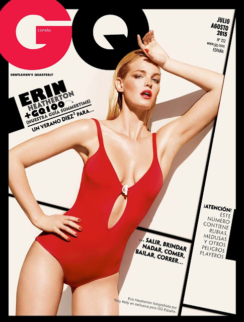 Fashion Model, Actress @ Erin Heatherton - GQ Spain, July 2015