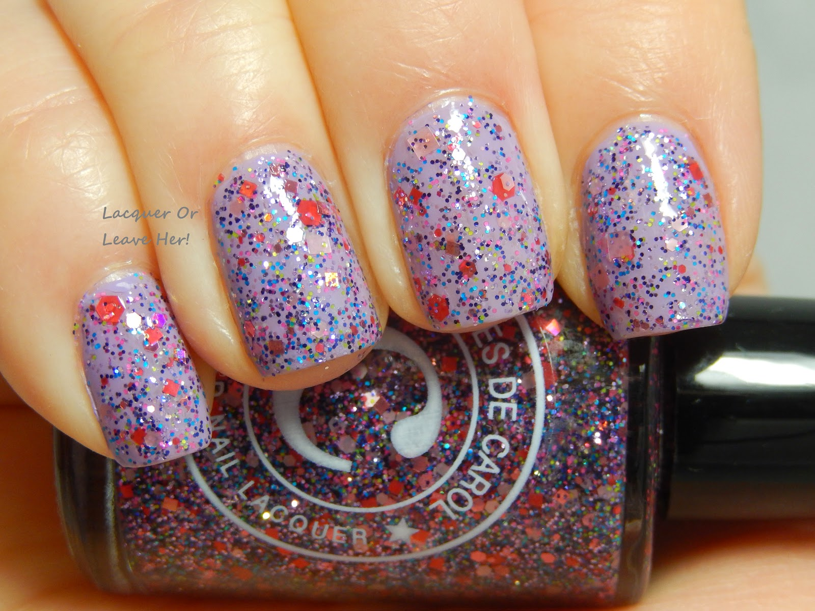 Colores de Carol Jesse's Girl over China Glaze Tart-y For The Party