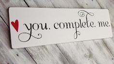 Tu nu esti complet si eu ma simt asemenea...