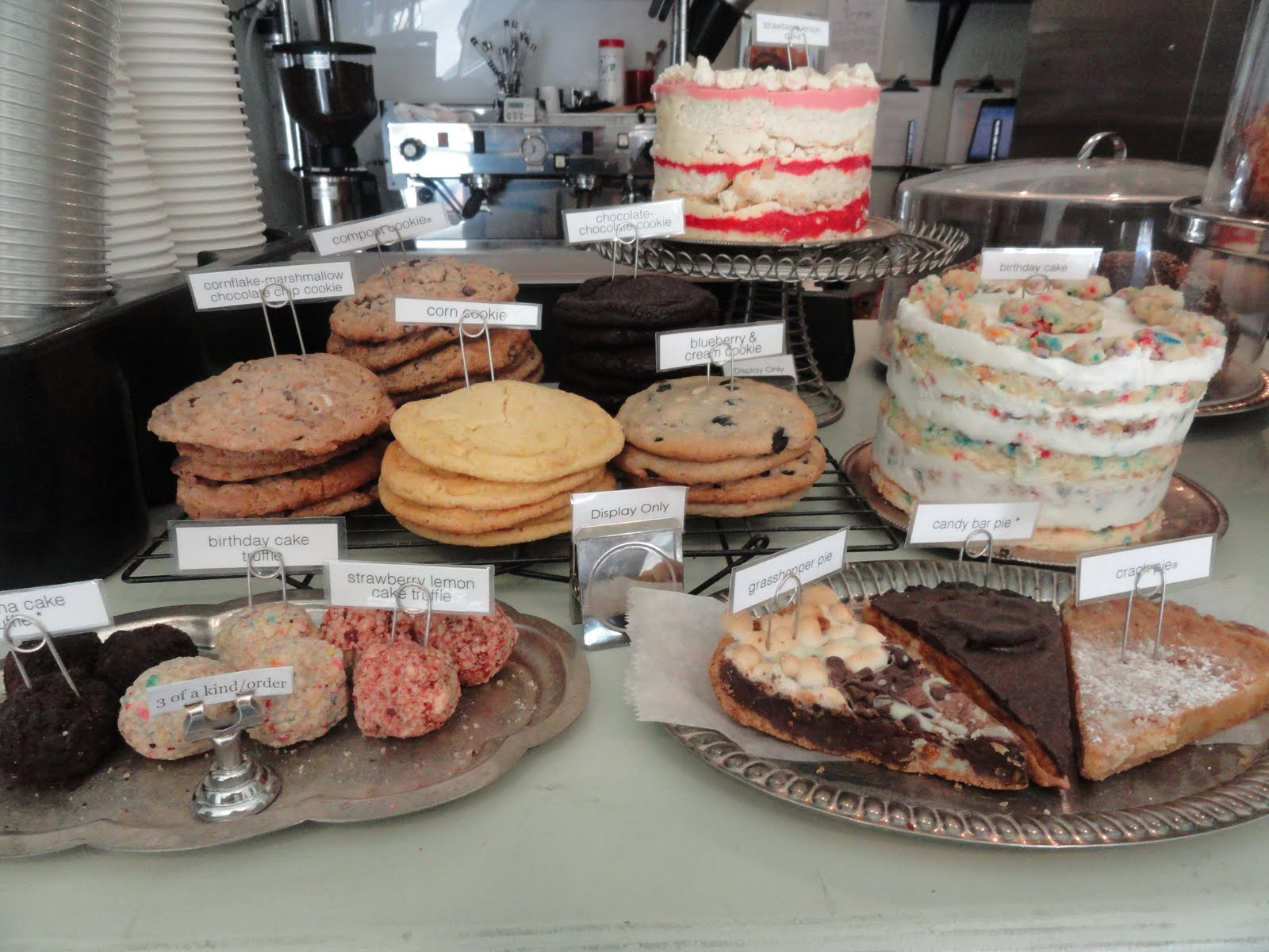 The Baked Goods All Look Very Appealing And I Tried Some Of Cookies Cake Truffles Corn Bread Everything Was Fresh Lasted Well For A