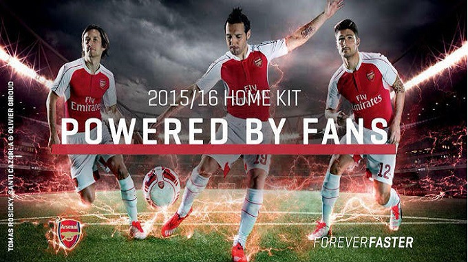 Jersey Bola Arsenal Grade Ori Terbaru