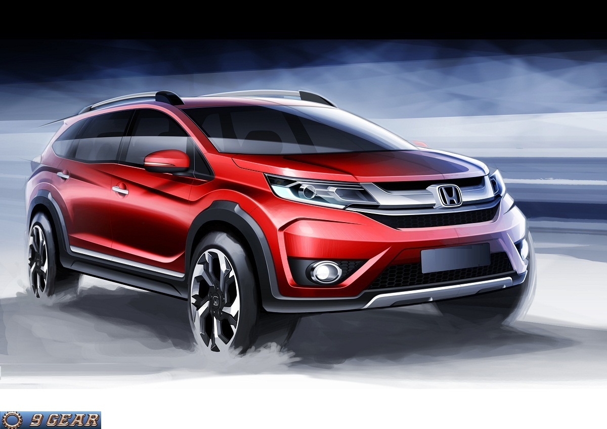 honda previews new br v crossover concept car reviews new car pictures for 2018 2019. Black Bedroom Furniture Sets. Home Design Ideas