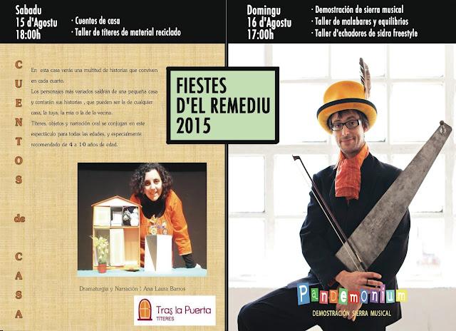 Asturias con niños: Actividades infantiles en las Fiestas de El Remediu