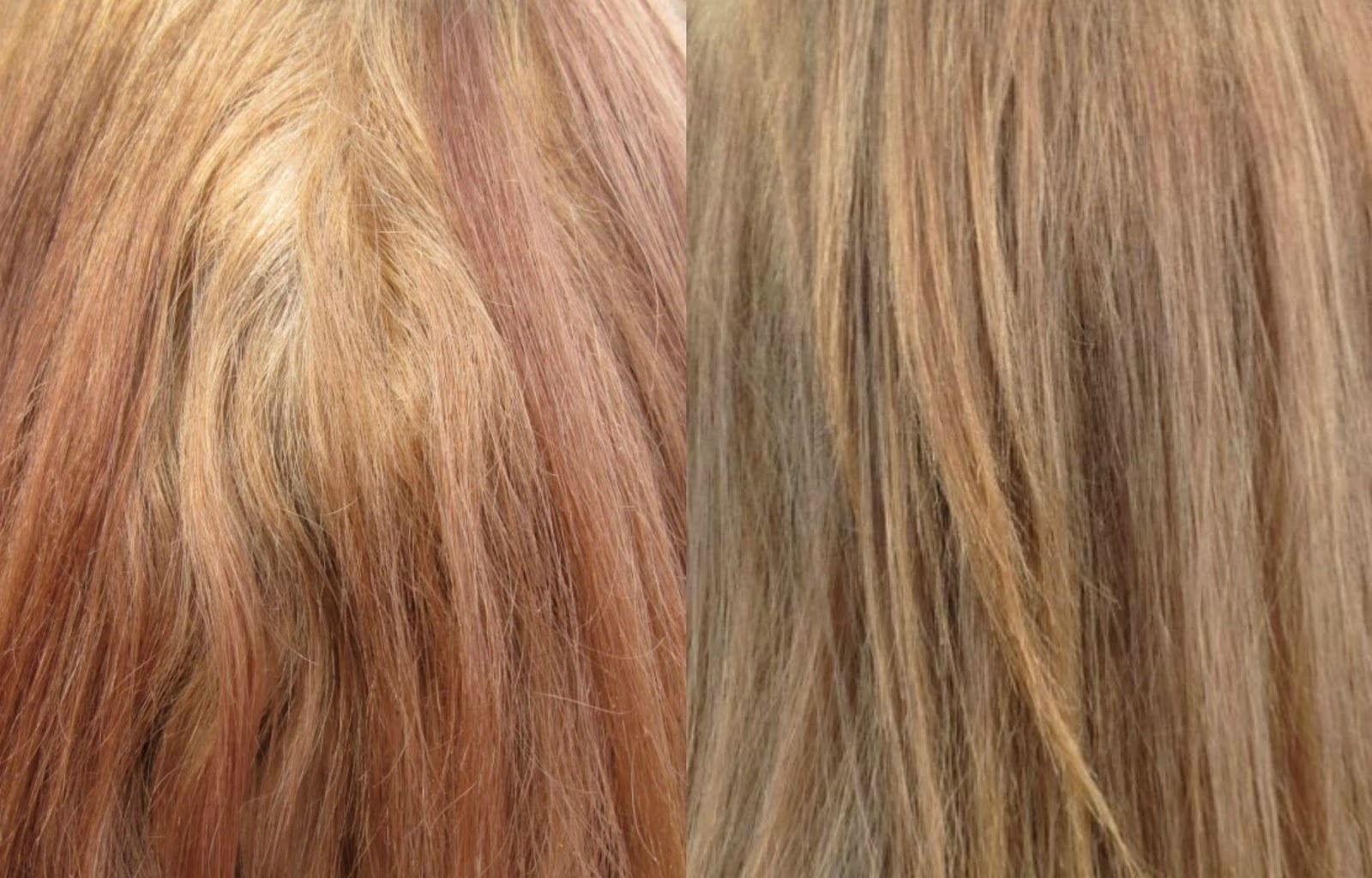 Dark Blonde Hair Color Pictures Dyed hair after using decolour